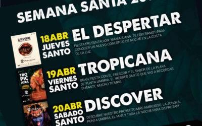 Programación Semana Santa 2019 Mamajuana Punta Umbría
